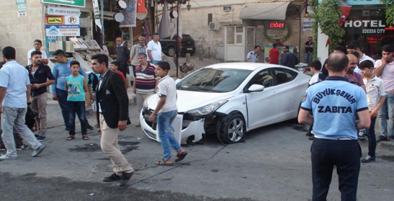 Şanlıurfa'da görünmez kaza 3 yaralı