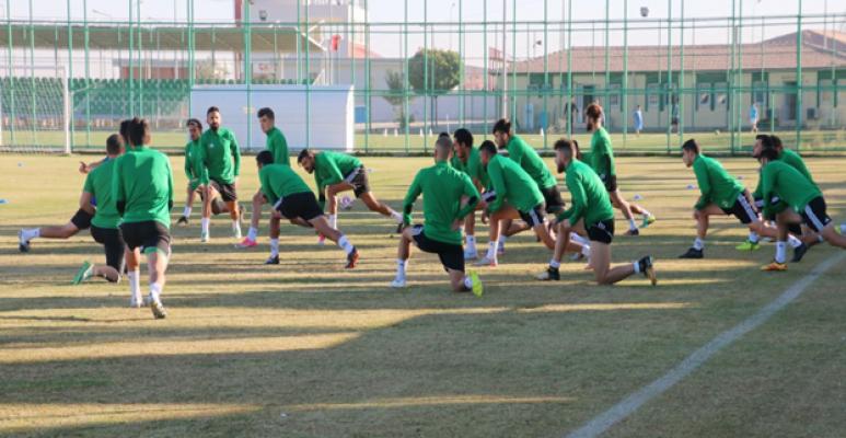 Şanlıurfaspor, Silivrispor maçına hazırlanıyor