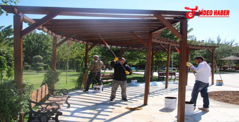 Turgut Özal Parkı Bilim Şenliğine Hazırlanıyor