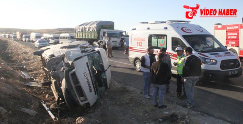 Urfa'da Feci Kaza, 1 4 Yaralı
