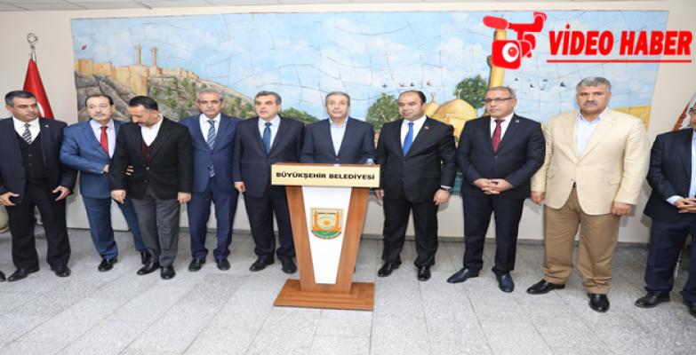 Ak Parti Genel Başkan Yardımcısı Eker'den Büyükşehir Belediyesine Ziyaret