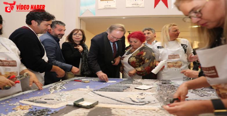 Büyükelçilerden, Mozaik Çalıştayı'na Tam Not