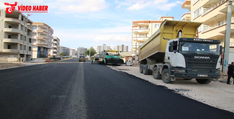 Büyükşehir'den Haliliye Ve Eyyübiye'de Sıcak Asfalt Atağı