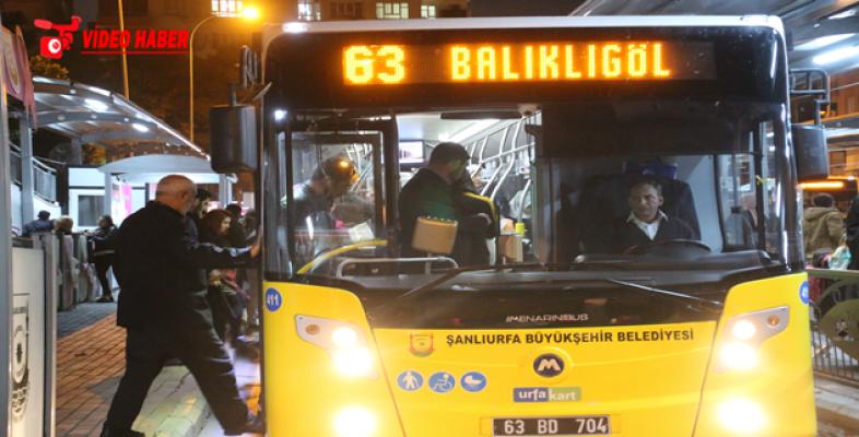Şanlıurfa'da Toplu Taşımada Yeni Dönem: Otobüsler 24 Saat Çalışacak