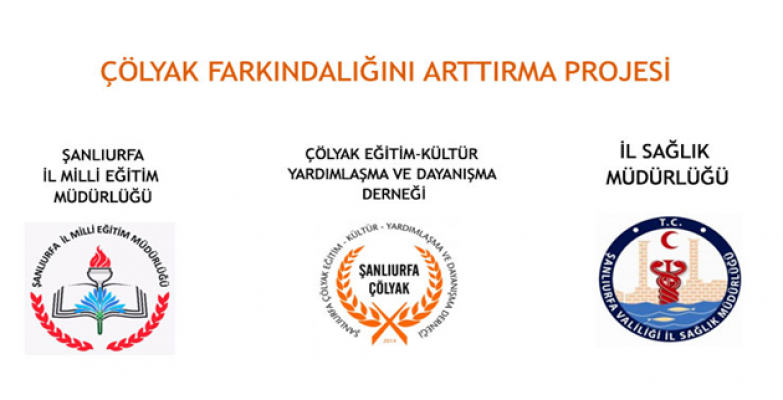 Şanlıurfa'da Çölyak Farkındalığını Arttırma Projesi imzalanan protokol ile faaliyete girdi.