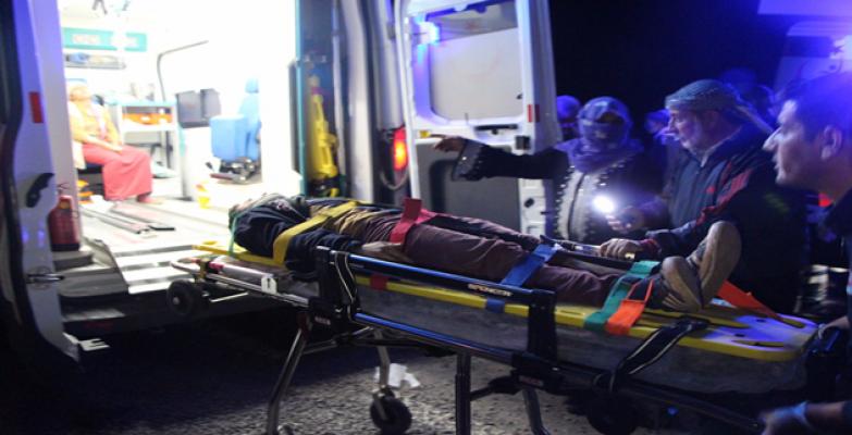 Şanlıurfa'da trafik kazası, 12 yaralı