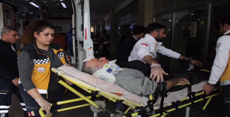 Urfa'da kaza, 3 yaralı