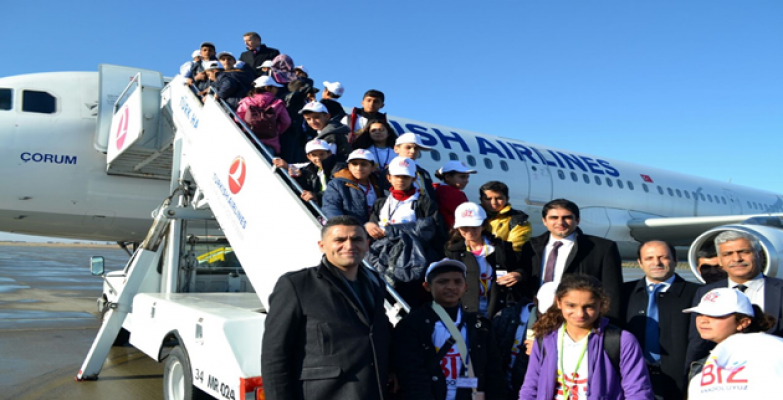 Biz Anadoluyuz İle 2134 Kişi İstanbul Ve Trabzon'a Uçtu