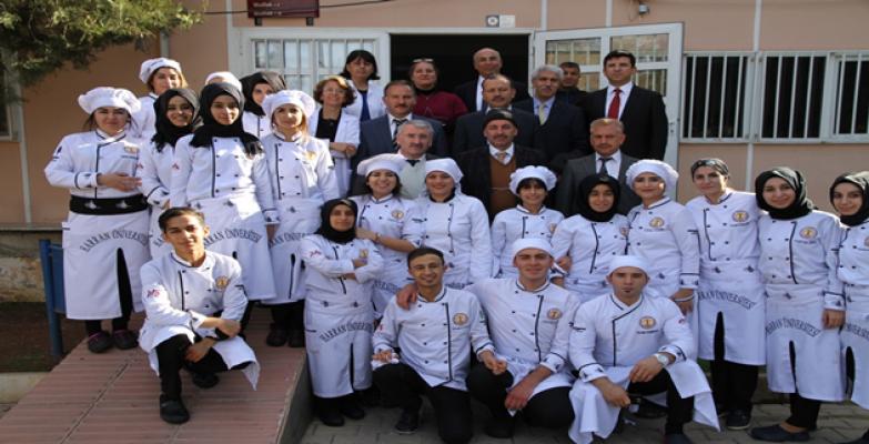 HRÜ Aşçılık Öğrencilerinin Lezzet Şöleni, Final Notlarını Yükseltti