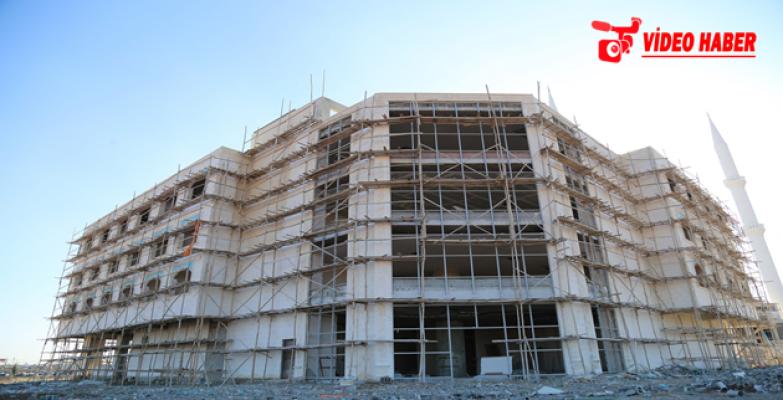 Eyyübiye Belediyesi Hasta Yakınları Misafirhanesinde Sona Geliniyor