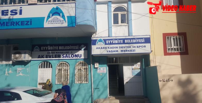 Eyyübiye Belediyesi Kadınlara Pozitif Ayrımcılığı Sürdürüyor
