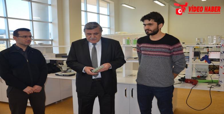 HRÜ, Sulara karışan Zirai Gübreleri Ayıklayacak Proje Geliştirdi