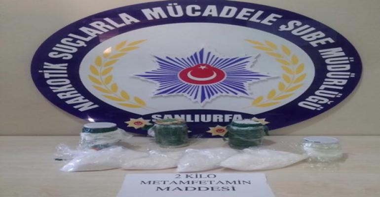 Urfa'da uyuşturucu operasyon