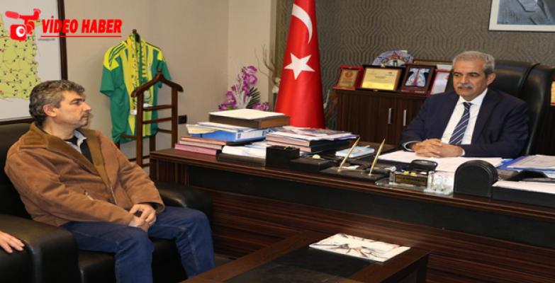 Afrin Şehidi Çubukçu'nun Ailesinden Başkan Demirkol'a Ziyaret