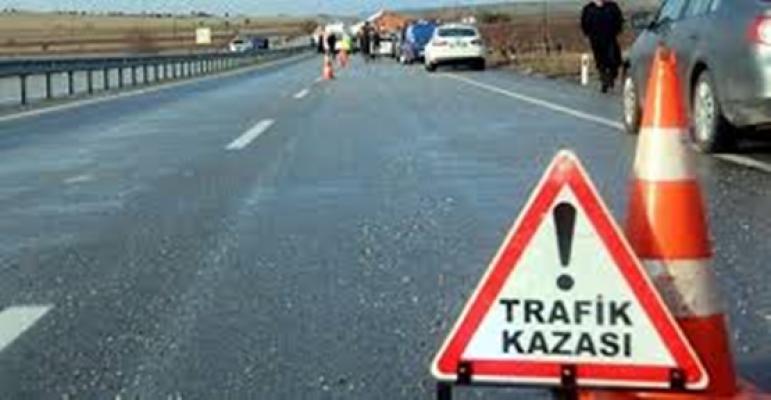 Trafik kazası, 1 Şehit, 2 Yaralı