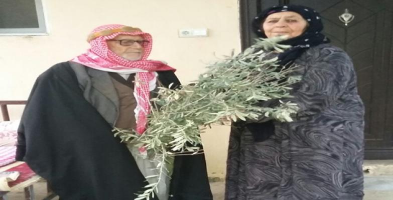 Urfa'da anlamlı sevgililer günü hediyesi