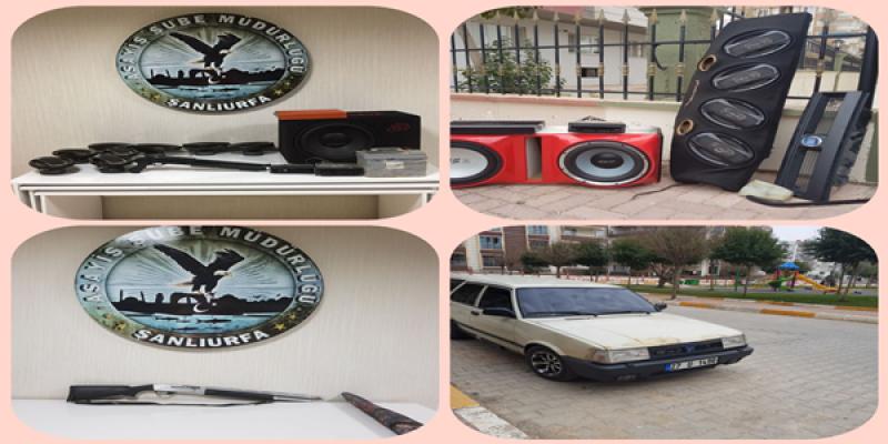 Urfa'da Oto Hırsızlığı