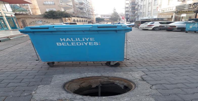 Urfa'da rögar hırsızlığı