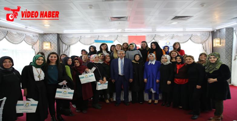 Başkan Demirkol'dan Kadınlara Çağrı: Sizlerin Her Zaman Yanındayız, Hizmetinizdeyiz