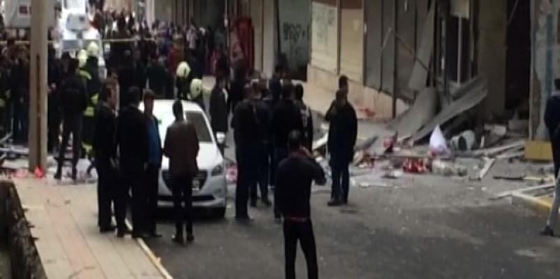 Diyarbakır'da İş Yerinde Patlama