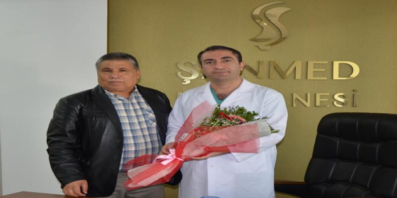 Mehmet Yıldırım'dan Dr. Sabri Keser'e Ziyaret
