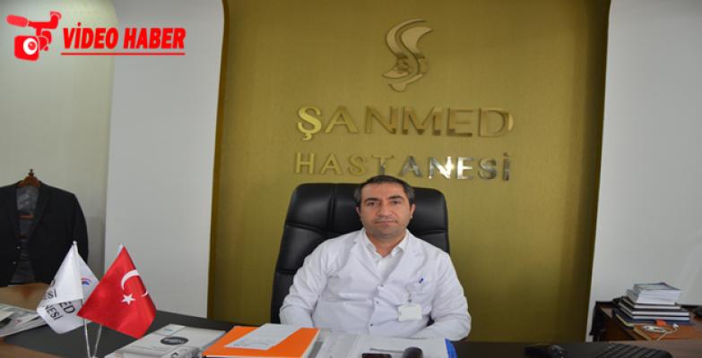 Özel Şanmed Hastanesi Başhekimi Keser, Tüm Branşlar Hastanede Mevcut