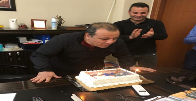 Personelden Başhekime Doğum Günü Sürprizi