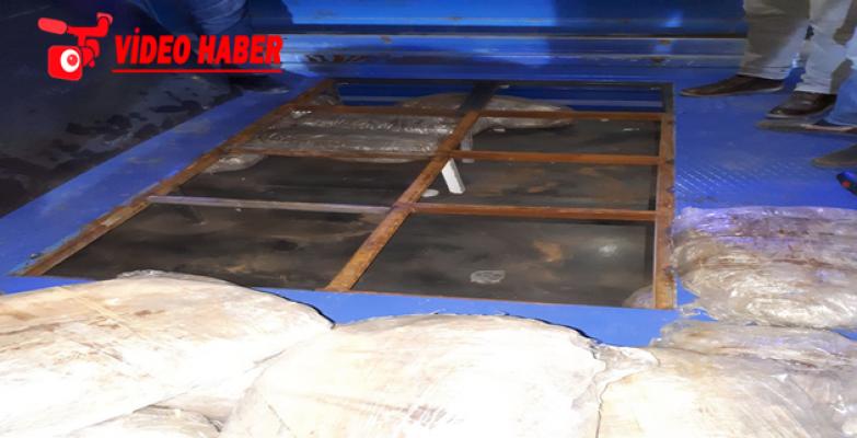 Şanlıurfa'da 115 kilo esrar ele geçirildi