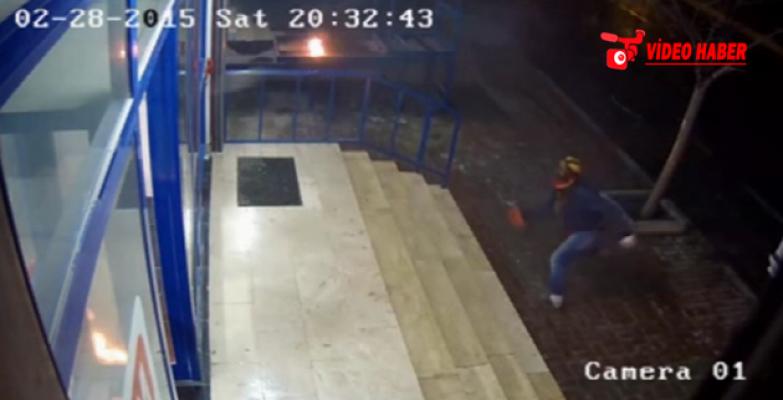 Şanlıurfa'da markete Molotof alanlar yakalandı