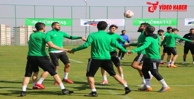 Şanlıurfaspor, gözünü Karşıyaka maçına dikti.