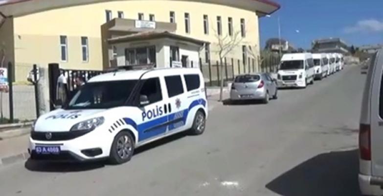 Urfa'da 142 polis ile okul denetimi