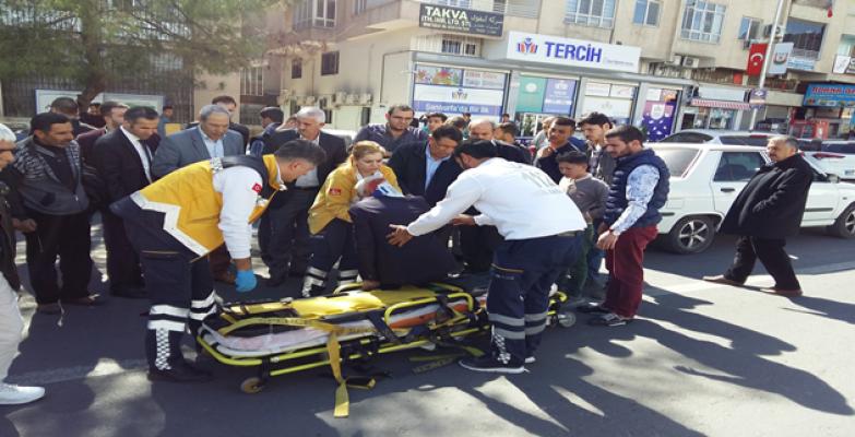Urfa'da kaza, 1 yaralı