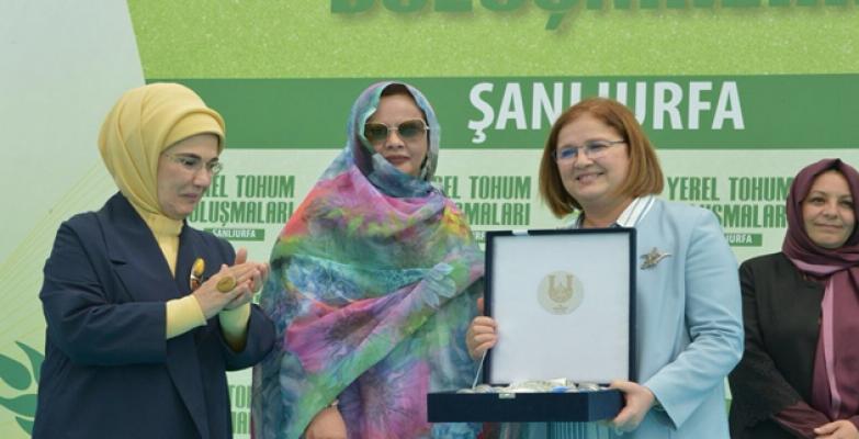 Emine Erdoğan, 15 yılda 7 kat artarak 1 milyon 50 bin tona ulaştı