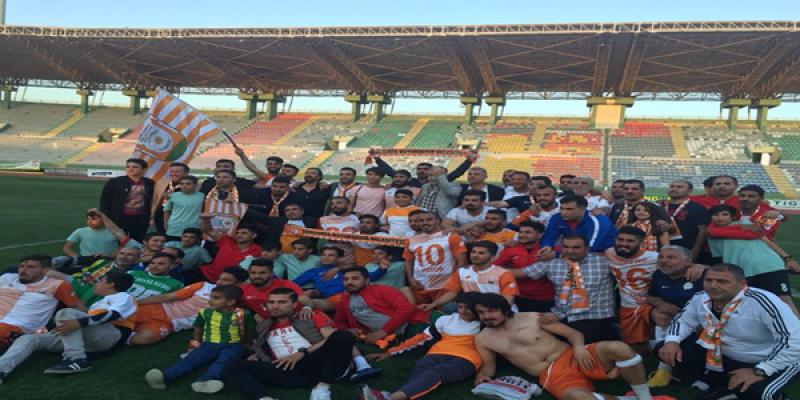 Şanlıurfa Büyükşehir Belediyespor şampiyon oldu