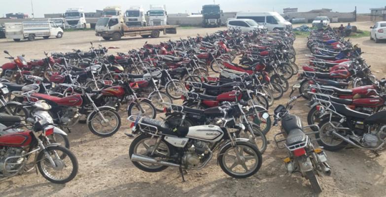 Şanlıurfa'da Motosiklet Hırsızları Yakalandı!