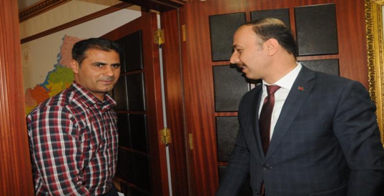 Trabzonlu Gönül Elçilerinin Mesajı Valiye İletildi