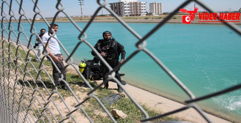 Urfa'da Kanala Düşen Genç Kayboldu