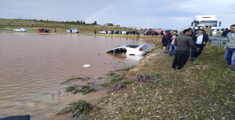 Urfa'da Araç Gölete Düştü, 7 Ölü