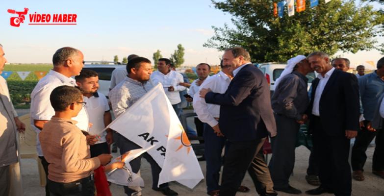 AK Aday Özcan Akçakale ve Eyyübiye Kırsalında