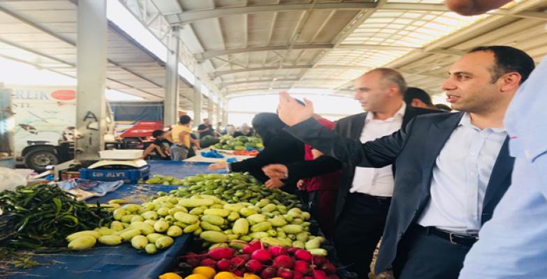 AK Aday Toru Seçim Çalışmalarını Sürdürüyor