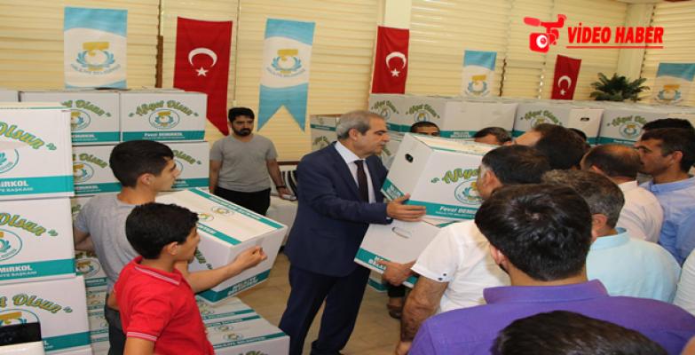 Urfa'da Çölyak Hastalarına Düzenli Yardım Yapılıyor