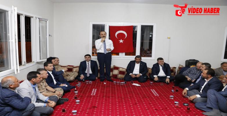 Vali Erin Ceylanpınar'da Konuştu:, Şanlıurfa, Türkiye'nin Lokomotifi Olabilecek Bir Şehir