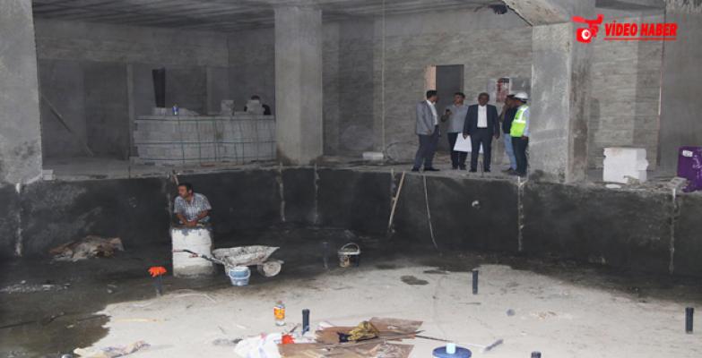 Başkan Demirkol, Vizyon Projelerin İnşaatını Denetledi