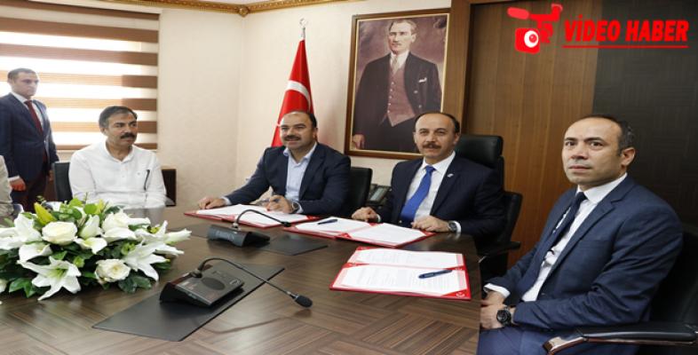 Çarmelik Kervansarayı'nın Tarım Müzesine Dönüştürülmesi İçin Destek Protokolü İmzalandı