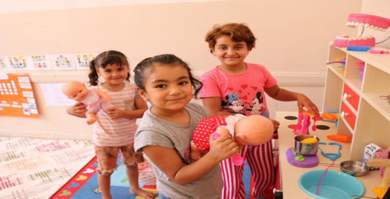 Eyyübiye'de Suriyeli Çocuklar İçin Anasınıfı Açıldı