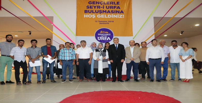 """""""Gençlerle Seyr-i Urfa Projesi"""" final yaptı"""