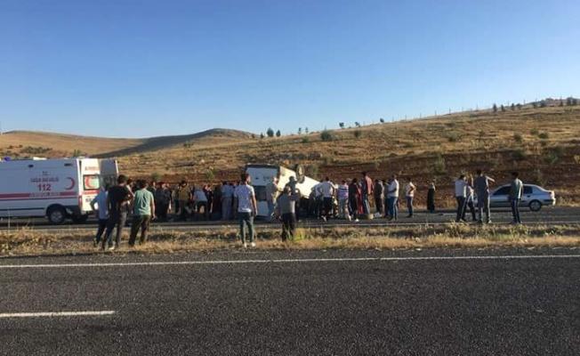 Urfa'da kaza, 11 yaralı