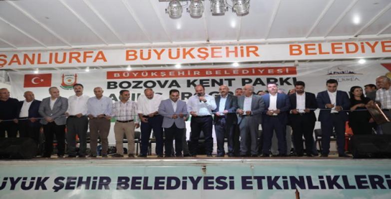 Bozova'da Toplu Açılış Töreni Düzenlendi