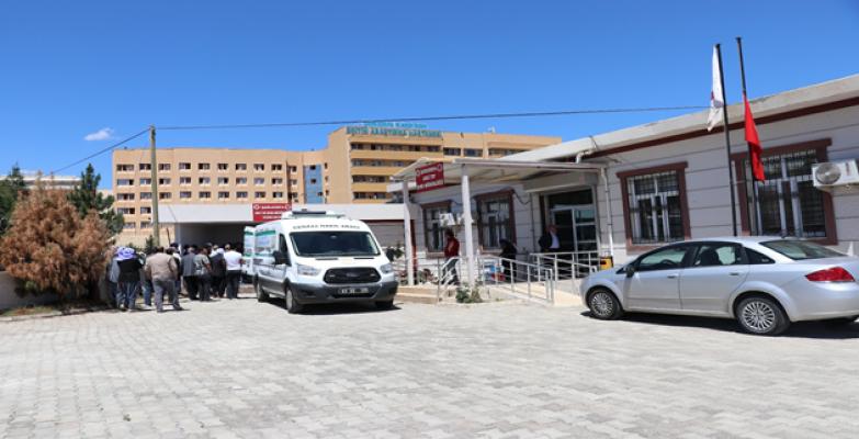 Şanlıurfa'da Üzerine televizyon düşen çocuk hayatını kaybetti