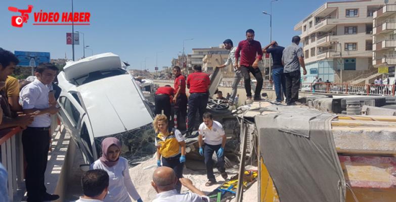Urfa'da Feci Kaza, 1 Ölü, 4 Yaralı